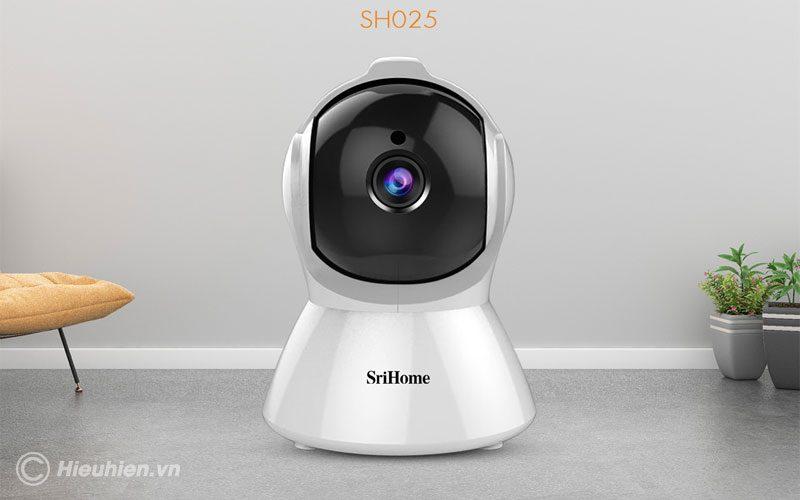 srihome sh025 full hd 1080p - camera ip wifi giám sát không dây - hình 02