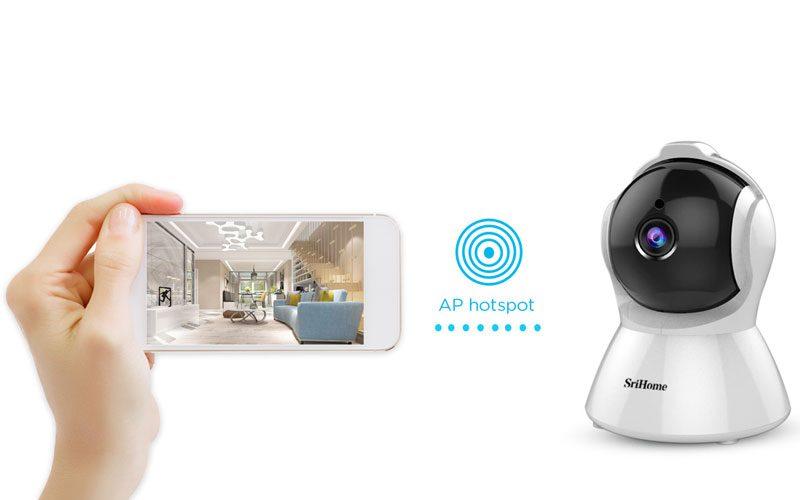 srihome sh025 full hd 1080p - camera ip wifi giám sát không dây - hình 08