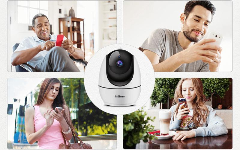 camera ip wifi srihome sh026 full hd 1080p chất lượng cao - hình 10