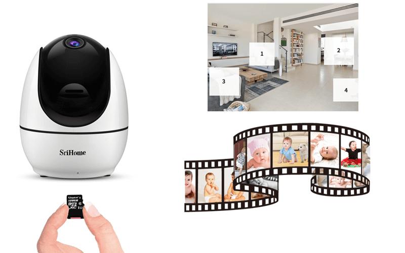 camera ip wifi srihome sh026 full hd 1080p chất lượng cao - hình 11