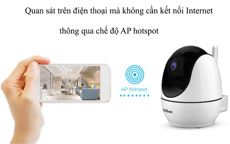 camera ip wifi srihome sh026 full hd 1080p chất lượng cao - hình 13