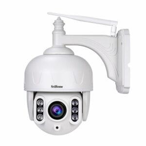srihome sh028 camera ip wifi giám sát ngoài trời