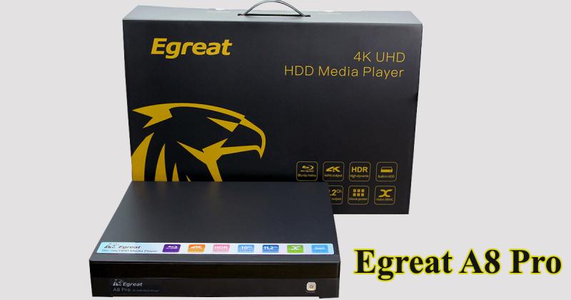 đánh giá egreat a8 pro - đầu karaoke thông minh kiêm đầu phát hd 4k