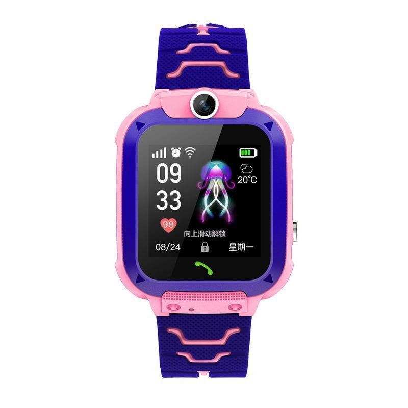 đồng hồ định vị trẻ em khắng nước wonlex gw600s có camera chụp hình - 02