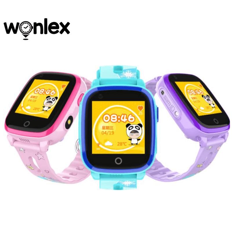 wonlex kt10 - đồng hồ định vị trẻ em chống nước, có camera, gọi video