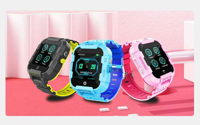 wonlex kt12 - đồng hồ định vị trẻ em, nghe gọi video call, tốc độ wifi 4g - hình 04