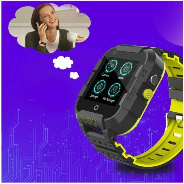 wonlex kt12 - đồng hồ định vị trẻ em, nghe gọi video call, tốc độ wifi 4g - hình 06