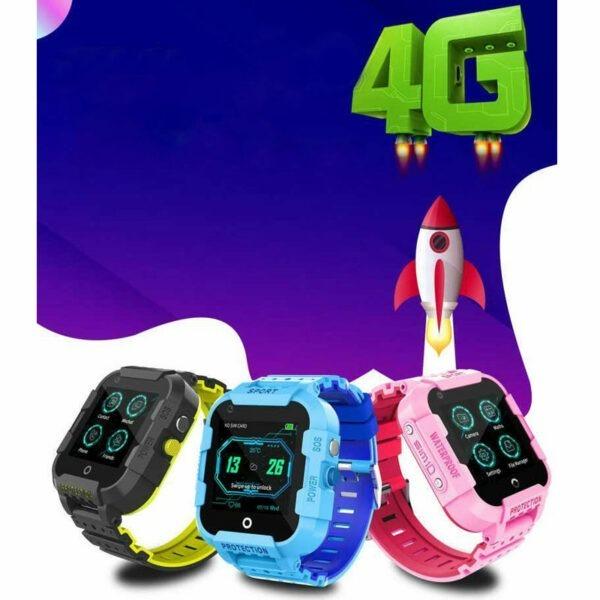 wonlex kt12 - đồng hồ định vị trẻ em, nghe gọi video call, tốc độ wifi 4g - hình 08