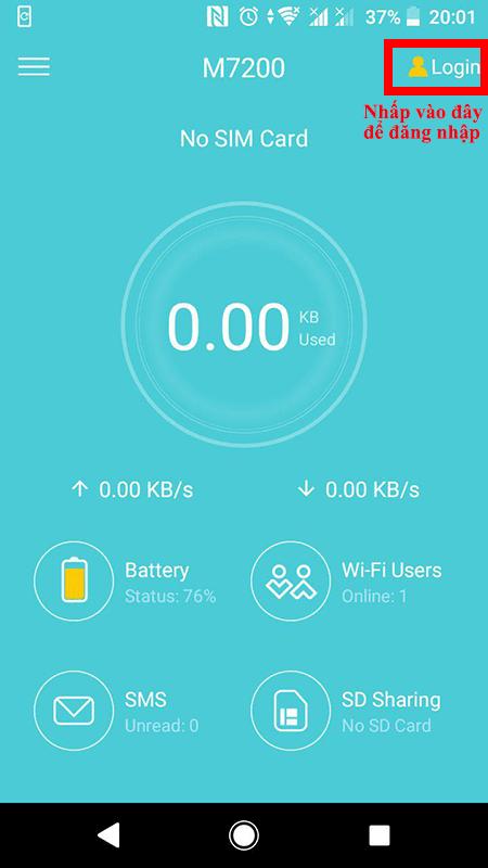 cách cấu hình bộ phát wifi 4g tp-link m7200 bằng ứng dụng tpmifi - hình 04