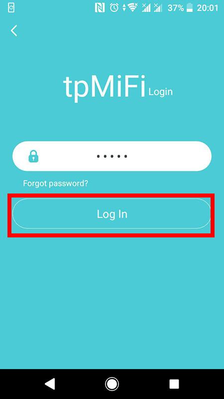 cách cấu hình bộ phát wifi 4g tp-link m7200 bằng ứng dụng tpmifi - hình 05
