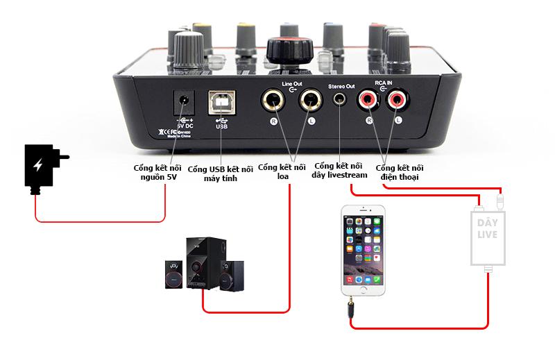 hướng dẫn lắp đặt và sử dụng sound card icon upod pro - hình 01