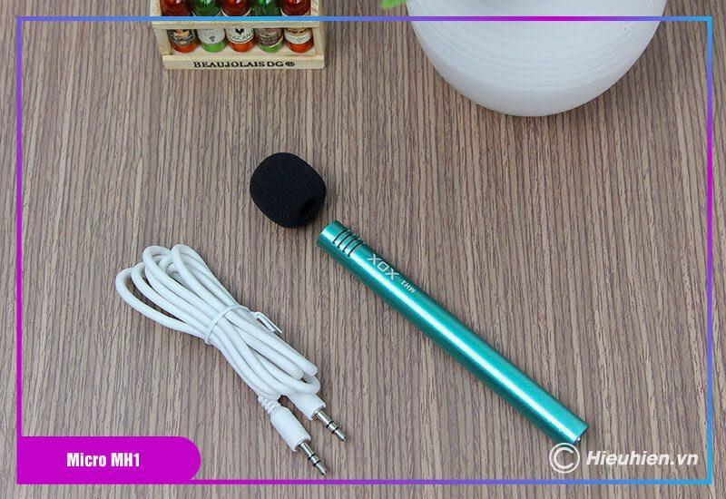 hướng dẫn sử dụng combo xox bh2 kèm micro xox mh1 - bộ livestream trên điện thoại - hình 02