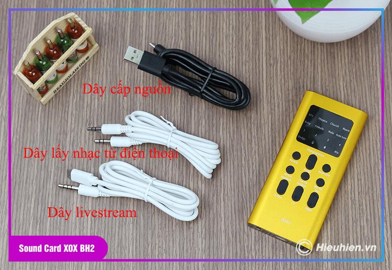 hướng dẫn sử dụng combo xox bh2 kèm micro xox mh1 - bộ livestream trên điện thoại - hình 04