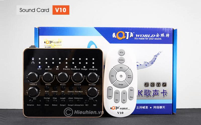 hướng dẫn chi tiết cách lắp đặt và chỉnh âm thanh trên sound card v10 - hình 01