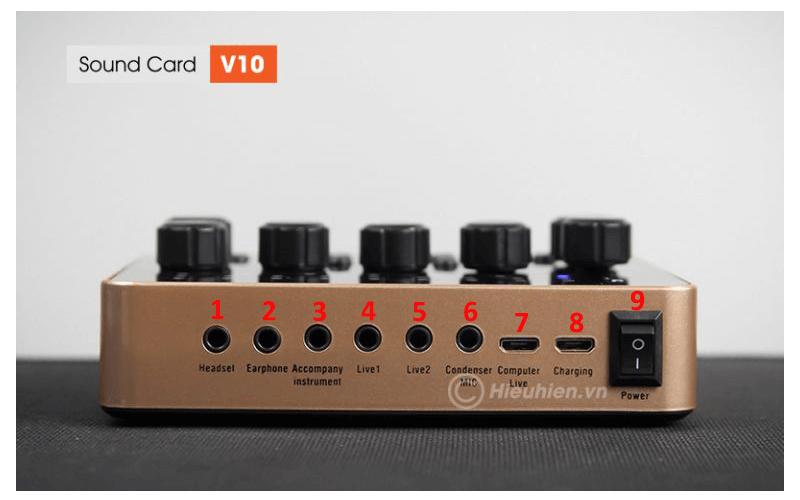 hướng dẫn chi tiết cách lắp đặt và chỉnh âm thanh trên sound card v10 - hình 02