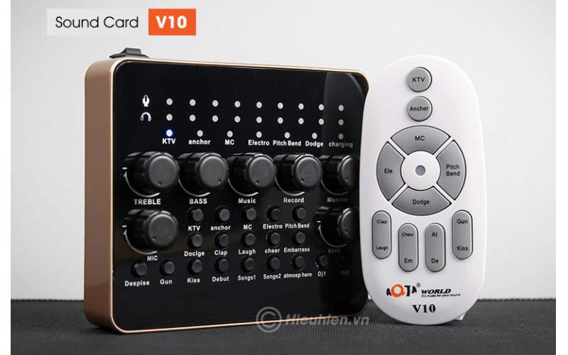 hướng dẫn chi tiết cách lắp đặt và chỉnh âm thanh trên sound card v10 - hình 09