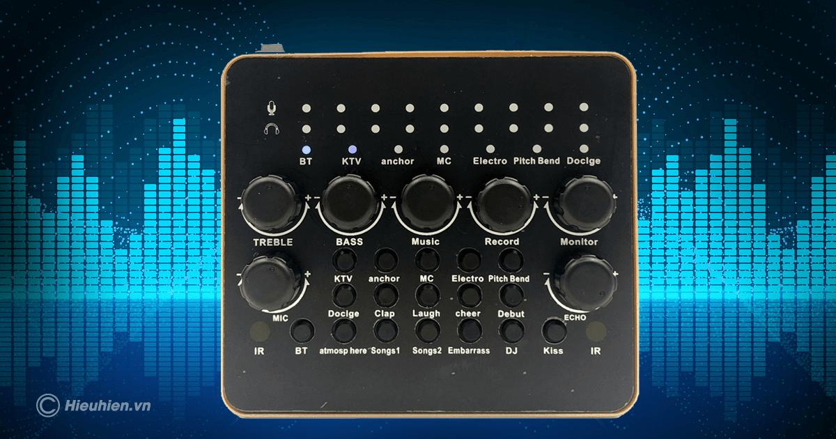 hướng dẫn chi tiết cách lắp đặt và chỉnh âm thanh trên sound card v10