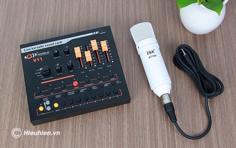 hướng dẫn chi tiết cách lắp đặt và sử dụng sound card aqta v11 - hình 02