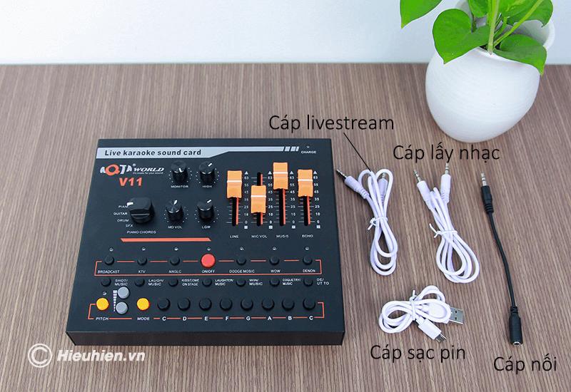 hướng dẫn chi tiết cách lắp đặt và sử dụng sound card aqta v11 - hình 05