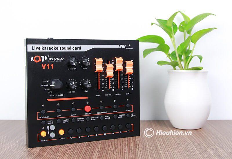 hướng dẫn chi tiết cách lắp đặt và sử dụng sound card aqta v11 - hình 08