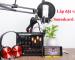 hướng dẫn chi tiết cách lắp đặt và sử dụng sound card aqta v11