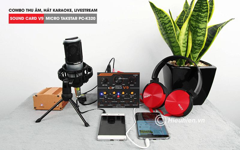 hướng dẫn chi tiết lắp đặt và sử dụng sound card v9 thu âm, livestream - hình 04
