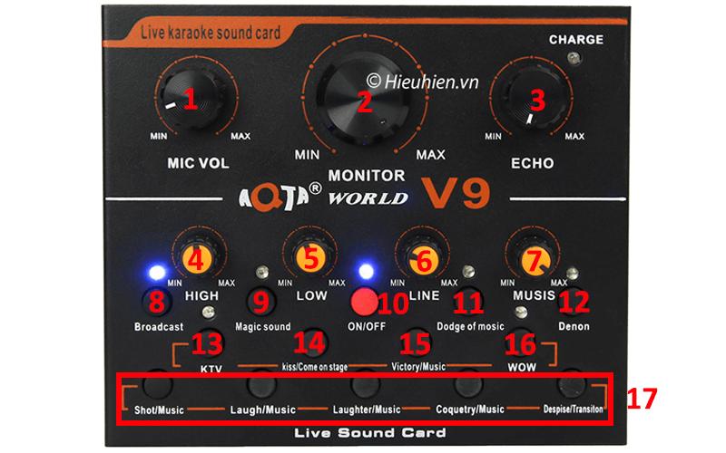 hướng dẫn chi tiết lắp đặt và sử dụng sound card v9 thu âm, livestream - hình 08