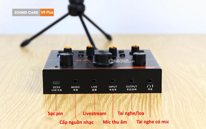 hướng dẫn lắp đặt và sử dụng sound card aqta v9 plus để thu âm - hình 01