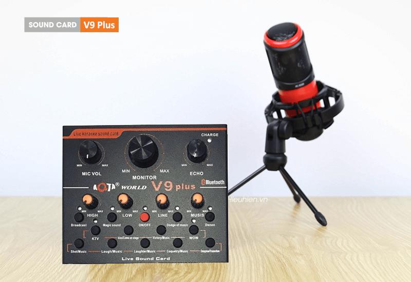 hướng dẫn lắp đặt và sử dụng sound card aqta v9 plus để thu âm - hình 03