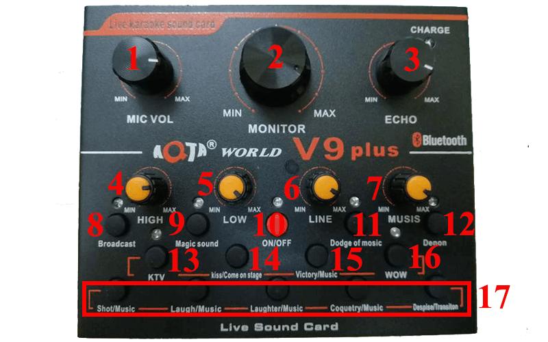 hướng dẫn lắp đặt và sử dụng sound card aqta v9 plus để thu âm - hình 07