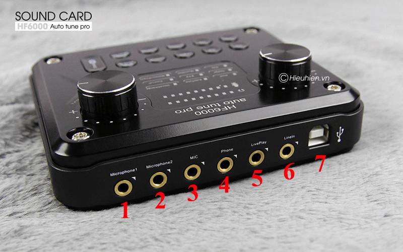 hướng dẫn các bước lắp đặt và sử dụng sound card hf6000 pro - hình 02