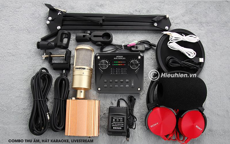 hướng dẫn các bước lắp đặt và sử dụng sound card hf6000 pro - hình 04