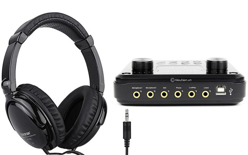 hướng dẫn các bước lắp đặt và sử dụng sound card hf6000 pro - hình 05