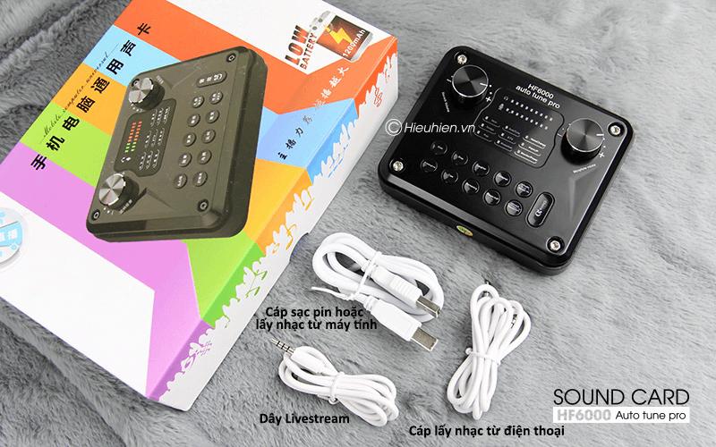 hướng dẫn các bước lắp đặt và sử dụng sound card hf6000 pro - hình 07