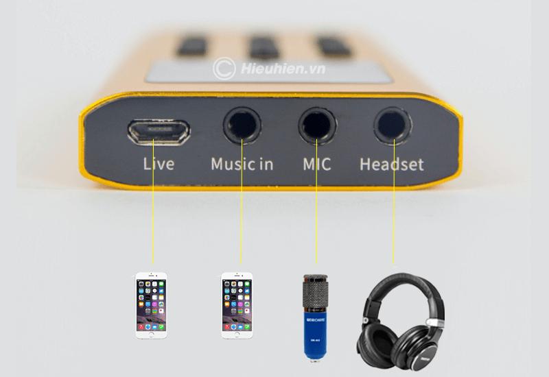 hướng dẫn lắp đặt và sử dụng sound card xox bh2 thu âm, livestream - hình 02