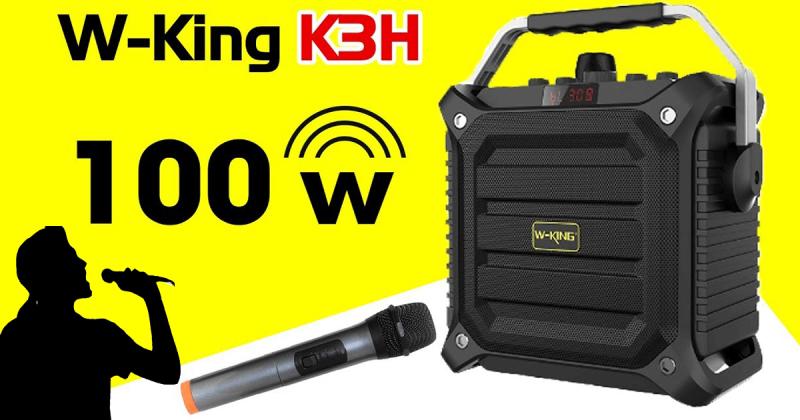 hướng dẫn sử dụng w-king k3h -loa hát karaoke xách tay