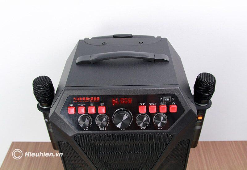 hướng dẫn sử dụng loa kéo w-king k5 hát karaoke di động - hình 02
