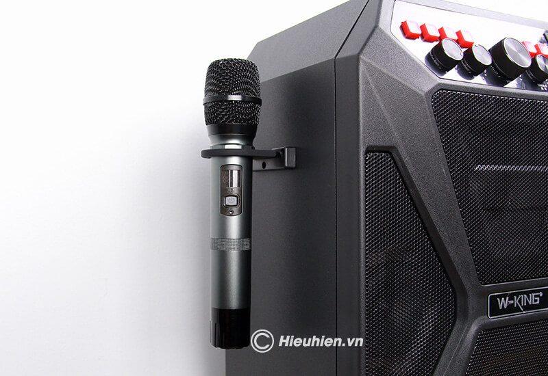 hướng dẫn sử dụng loa kéo w-king k5 hát karaoke di động - hình 07