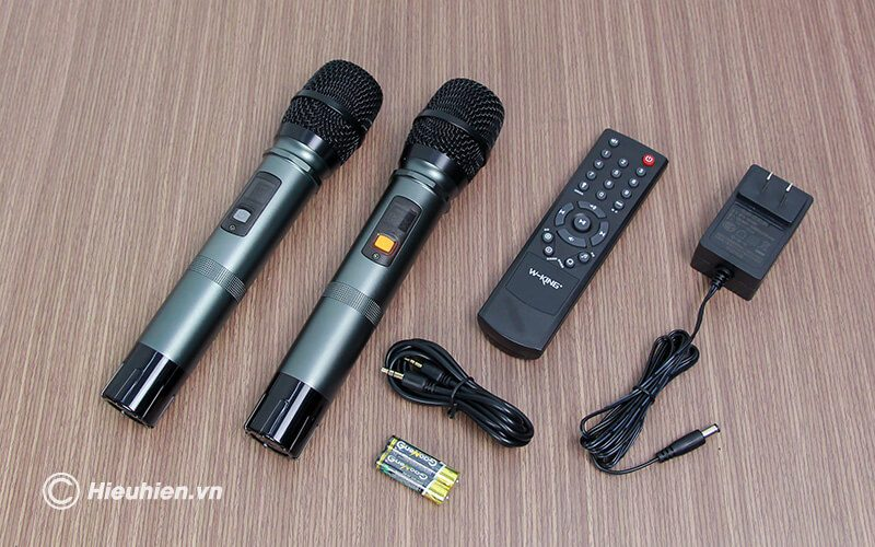 so sánh loa hát karaoke di động w-king k3h và w-king k5 - hình 08