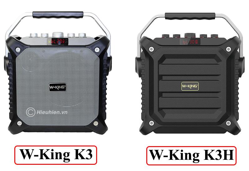 so sánh loa hát karaoke xách tay w-king k3h và w-king k3 - hình 03