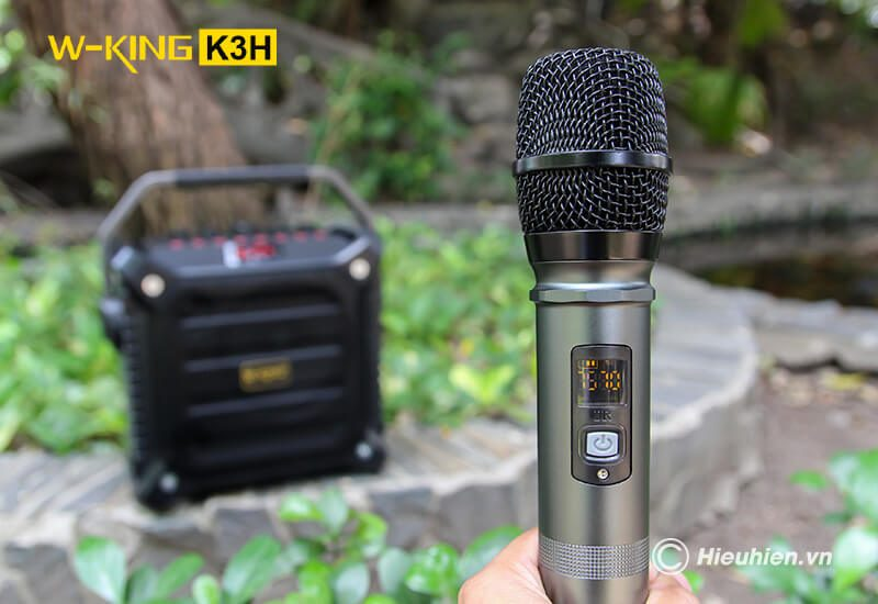 so sánh loa hát karaoke xách tay w-king k3h và w-king k3 - hình 05