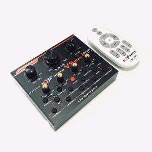 sound card aqta v9 plus - thu âm bài hát, hát livestream, karaoke - hình 01