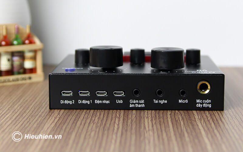 sound card v8 - bản tiếng việt, card âm thanh hát karaoke, livestream - hình 09