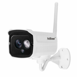 srihome sh024 1080p - camera ip wifi chống nước, quan sát ngoài trời - hình 01