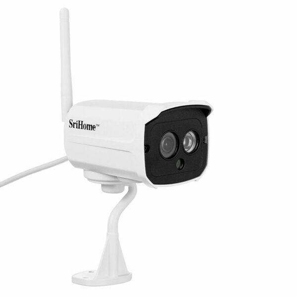 srihome sh024 1080p - camera ip wifi chống nước, quan sát ngoài trời - hình 03