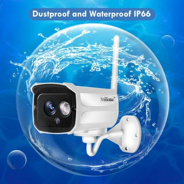 srihome sh024 1080p - camera ip wifi chống nước, quan sát ngoài trời - hình 06