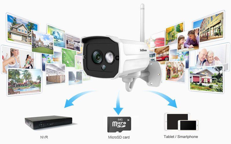 srihome sh024 1080p - camera ip wifi chống nước, quan sát ngoài trời - hình 12