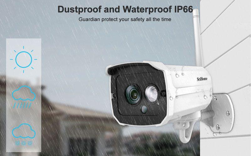 srihome sh024 1080p - camera ip wifi chống nước, quan sát ngoài trời - hình 15