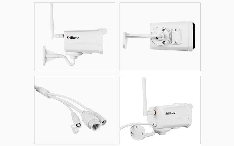 srihome sh024 1080p - camera ip wifi chống nước, quan sát ngoài trời - hình 17
