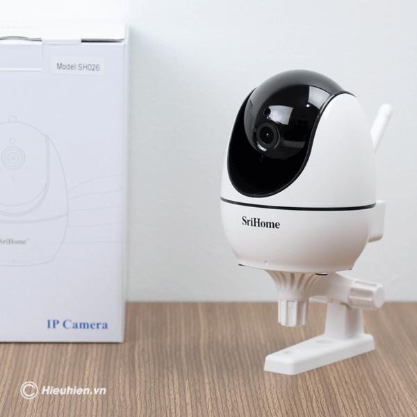 srihome sh026 camera ip wifi độ phân giải full hd 1080p - hình 05